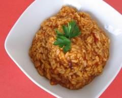 Recette risotto aux tomates végétarien