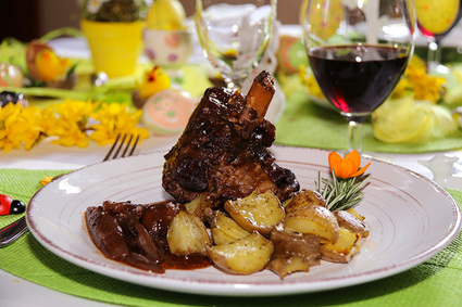 Recette de souris d'agneau braisée au vin rouge et aux échalotes ...