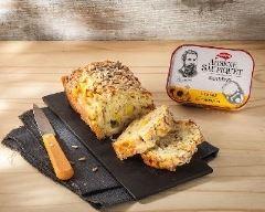 Recette cake aux sardines, pomme et comté