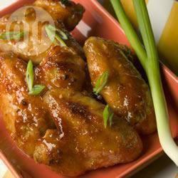 Recette ailes de poulet glacées à l'orange et au gingembre – toutes ...