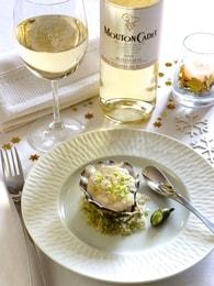 Recette d'écume d'huîtres au citron caviar