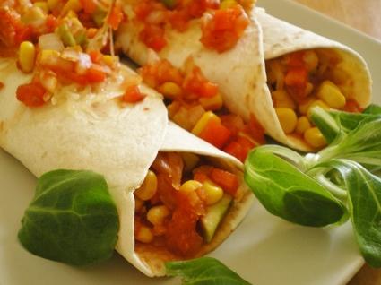 Recette enchiladas végétariennes