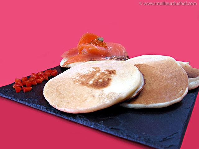 Blinis  fiche recette avec photos  meilleurduchef.com