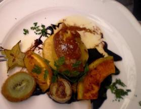 Foie gras poêlé aux saveurs fruitées pour 1 personne