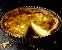Recette flan en tarte