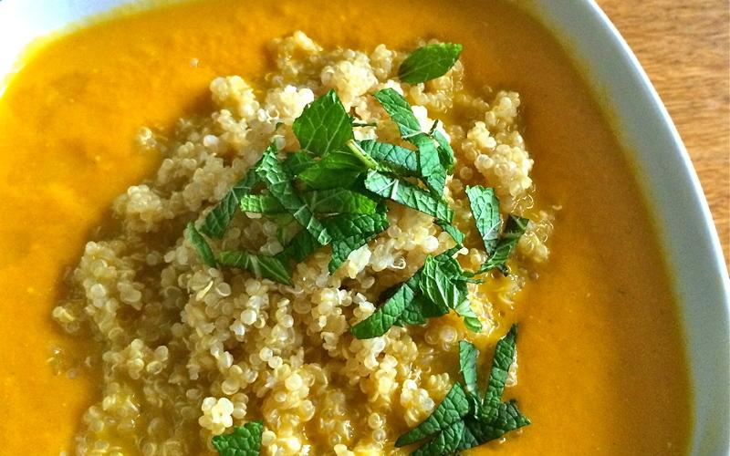 recette soupe de carotte f ta et quinoa conomique et. Black Bedroom Furniture Sets. Home Design Ideas