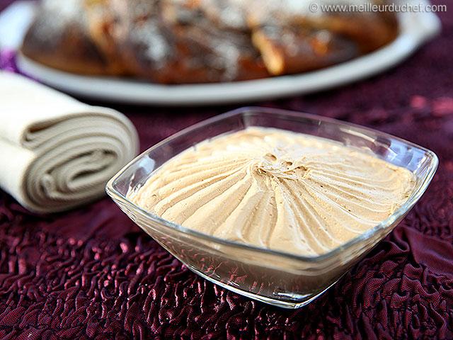 Crème au beurre allégée praliné  la recette avec photos ...