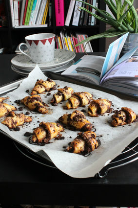 Recette de rugelachs mi-biscuit mi-croissant