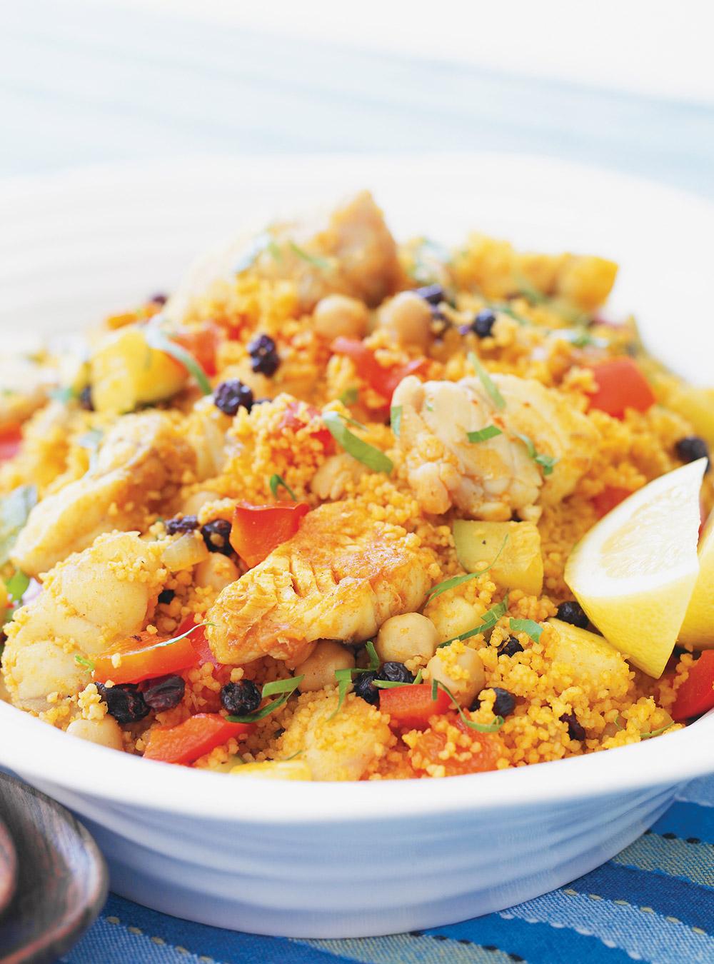 Couscous tunisien au poisson | ricardo