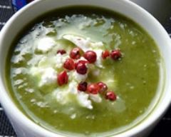 Recette soupe de fanes de radis