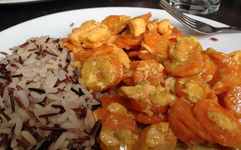 Recette curry coco de saumon et carottes économique > cuisine ...