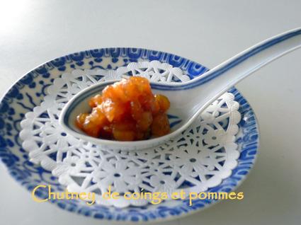 Recette de chutney de coings, pommes au gingembre