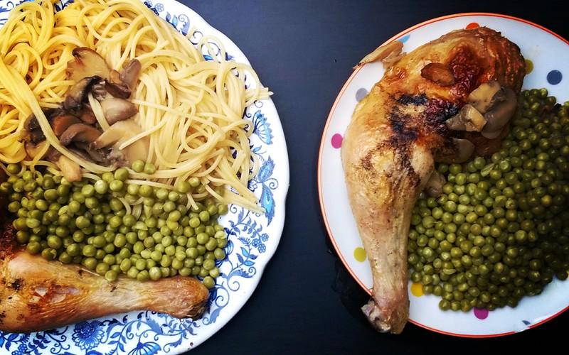 Recette cuisse de poulet aux champignons économique et simple ...