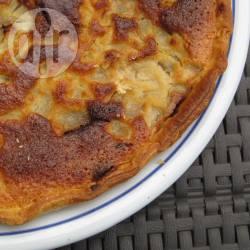 Recette tarte aux poires, crème amandes et praliné – toutes les ...