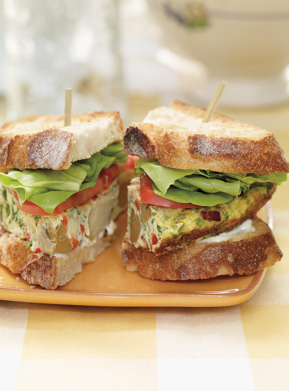 Sandwich frittata | ricardo