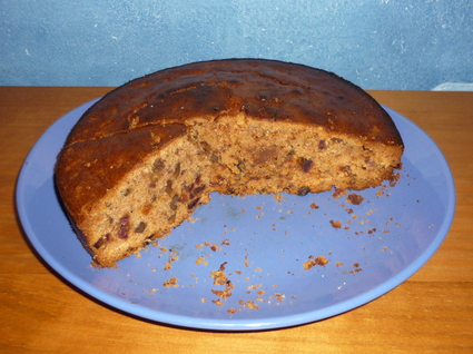 Recette de cake au potiron, dattes, noix et cannelle
