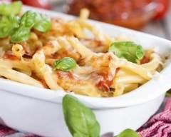 Recette gratin de macaroni à la bolognaise
