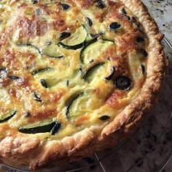 Recette quiche aux courgettes et aux olives – toutes les recettes ...