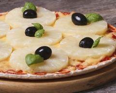 Recette pizza à l'ananas et fromages