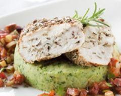 Recette poulet mariné aux herbes de provence, sauce chorizo et ...