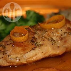 Recette poulet aux oranges grillées et au romarin – toutes les ...