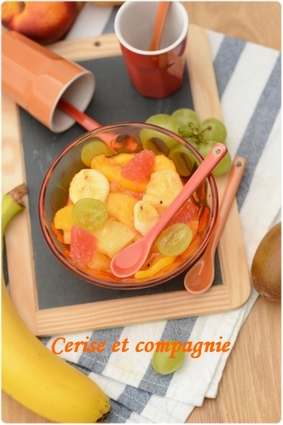 Recette salade de fruits pour 6 personnes