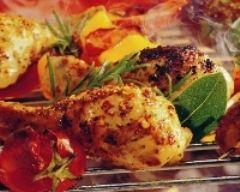 Recette pilons de poulet aux épices