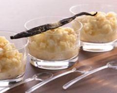 Recette riz au lait au sucre vanillé facile