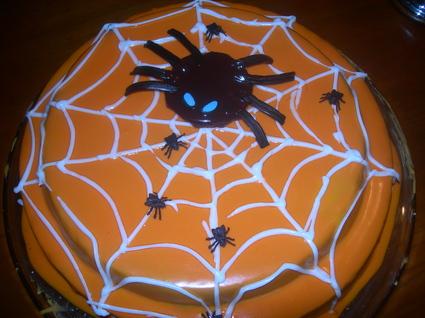 Recette gâteau d'halloween (gâteau)