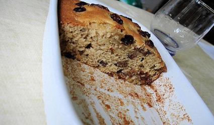 Recette de gâteau de régime aux raisins secs