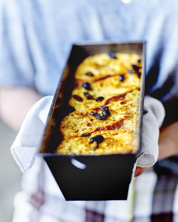 Pudding de pain aux légumes du midi pour 6 personnes
