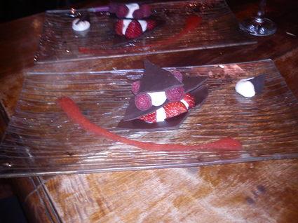 Recette de millefeuille chocolat et fruits rouges