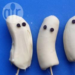 Recette sucettes banane chocolat en forme de fantôme – toutes les ...