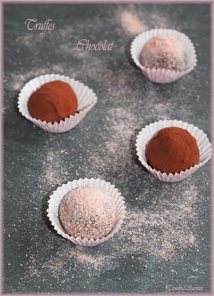 Recette de truffes au chocolat inratables