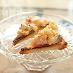 Amuse bouche aux maquereaux la recette facile recette for Canape au fromage