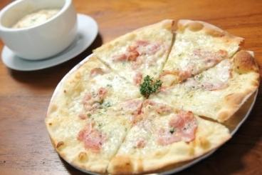 Recette de mini-pizza blanche