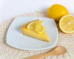 Recette tarte au citron sans lactose