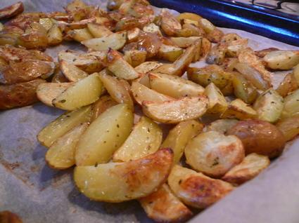 Recette de pommes de terre au four au romarin