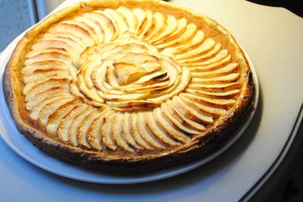 Recette de tarte aux pommes facile et rapide