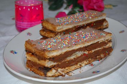 Recette de mille-feuille au chocolat
