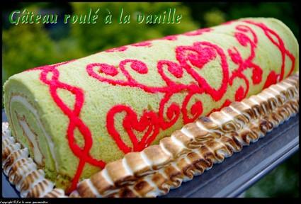 Recette de gâteau roulé à la vanille
