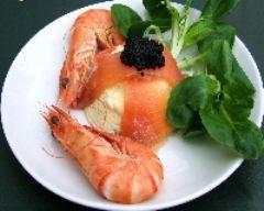 Recette flan au saumon fumé et à la ciboulette