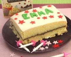 Recette gâteau d'anniversaire au yaourt et aux 2 chocolats