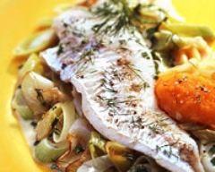 Recette poisson grillé sauce chien