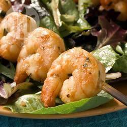 Recette crevettes marinées et grillées – toutes les recettes allrecipes