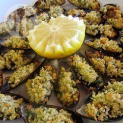 Recette moules gratinées à l'italienne – toutes les recettes allrecipes