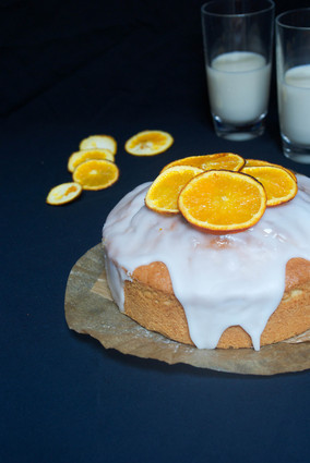 Recette cake à l'orange pour 6 personnes