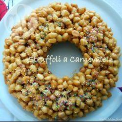 Recette struffoli : couronne de beignets italiens au miel – toutes les ...
