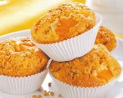 Recette muffins mandarine et pralin