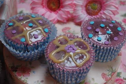 Recette de cupcakes à la confiture de lait